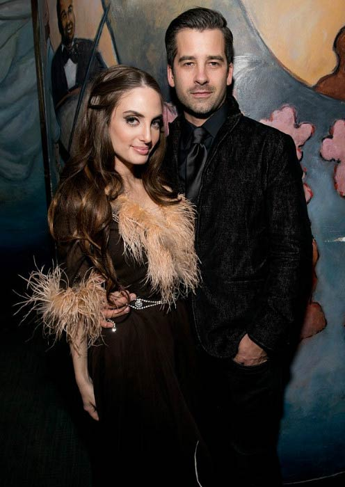 Alexa Ray Joel and Ryan Gleason at the New York City concert in April 2014