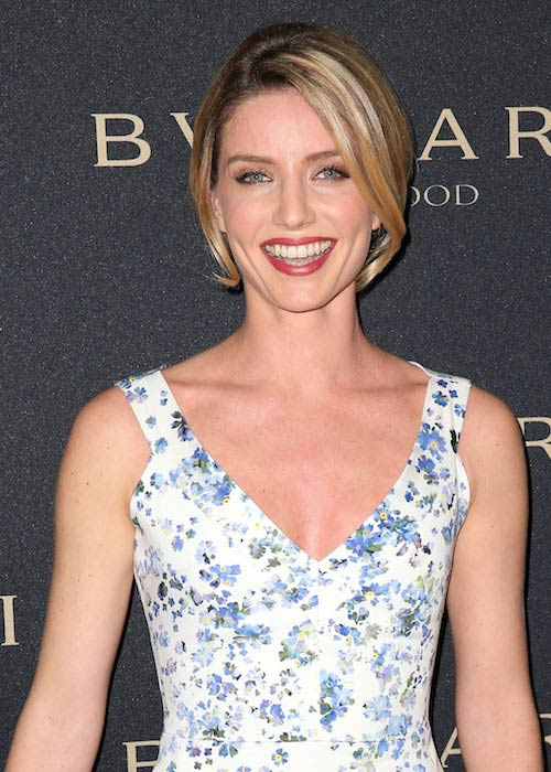Annabelle Wallis at a Bvlgari pre-Oscar party hosted by Naomi Watts in West Hollywood in February 2014