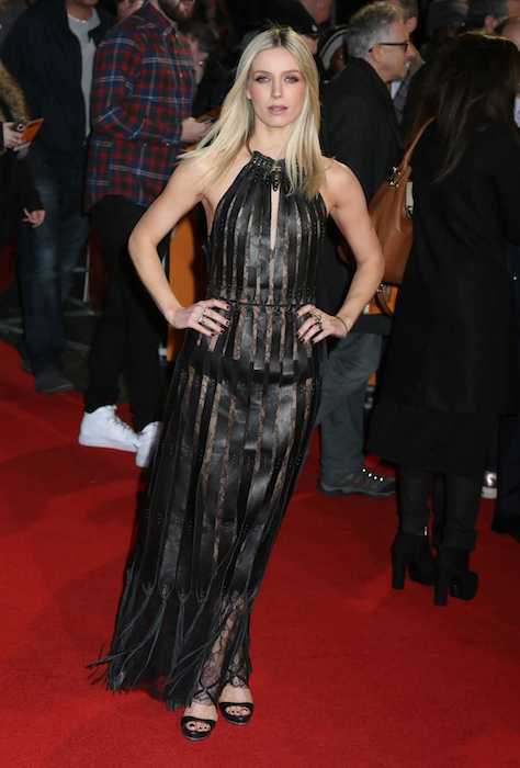 "Annabelle Wallis at the London premiere of ""The Brothers Grimsby"" in February 2016"