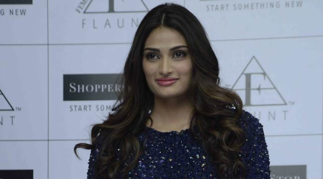 Athiya Shetty at the launch of Femina Flaunt by Shoppers Stop in November 2016