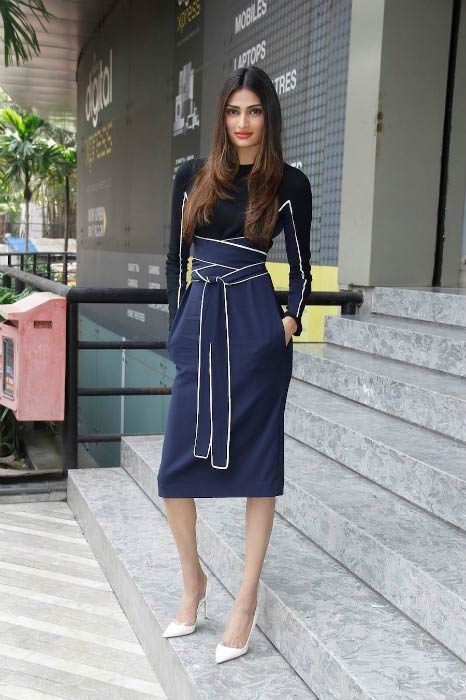 Athiya Shetty at the launch of latest issue of Grazia magazine in September 2015