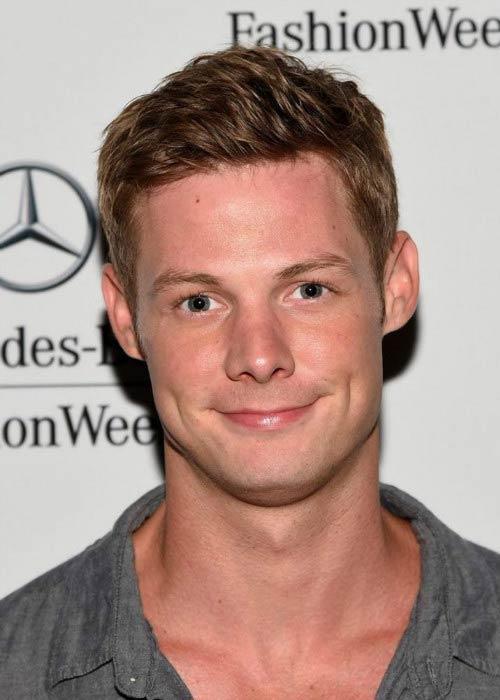 Brandon Jones at the Mercedes-Benz Fashion Week Spring 2015
