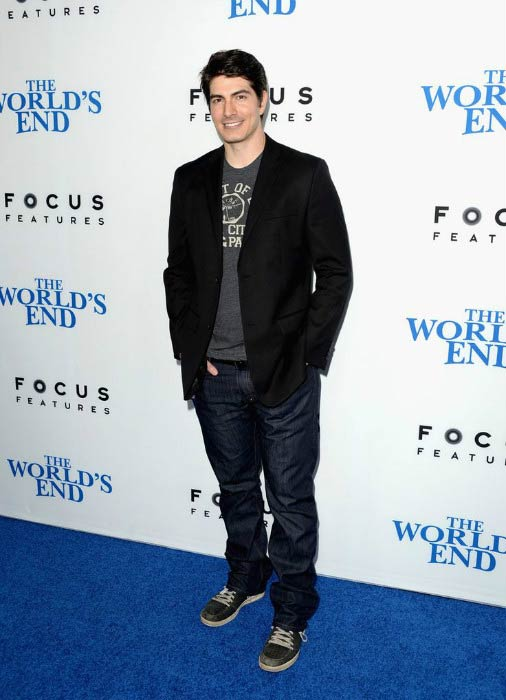 Brandon Routh at the premiere of Focus Features' The World's End in August 2013