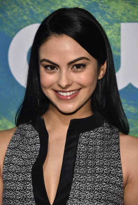 Camila Mendes at the CW Network's 2016 New York Upfront Presentation