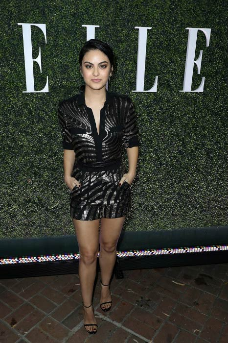 Camila Mendes at the ELLE's Annual Women In Television Celebration in January 2017