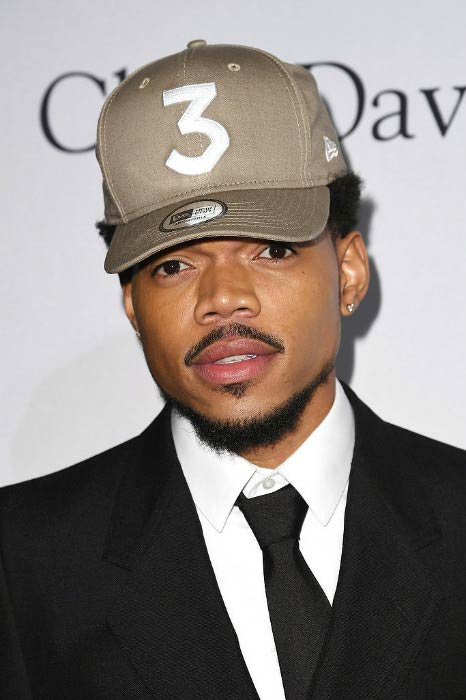 Chance The Rapper at the Pre-GRAMMY Gala and Salute to Industry Icons Honoring Debra Lee in February 2017
