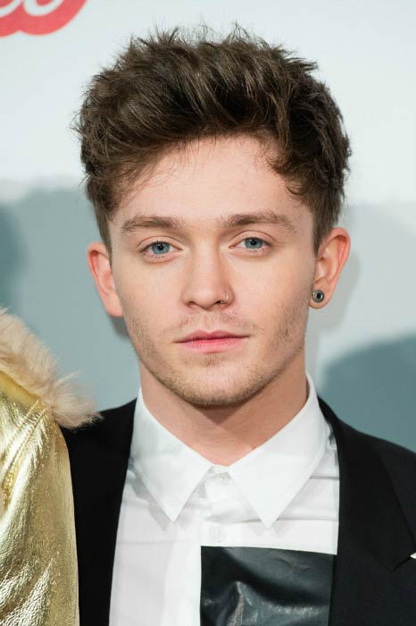 Connor Ball at the Capital's Jingle Bell Ball in September 2016 in London