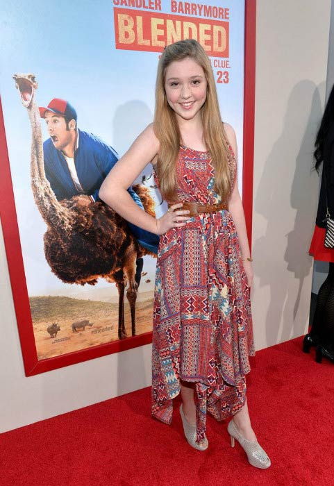 Cozi Zuehlsdorff at the Los Angeles premiere of 'Blended' in May 2014