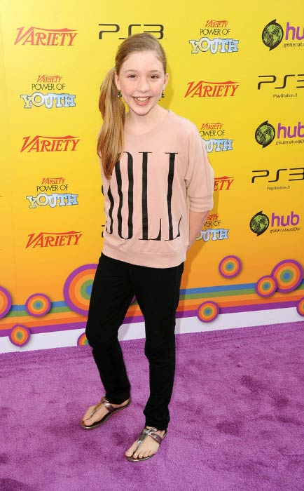 Cozi Zuehlsdorff at the Variety's 5th annual Power of Youth event in October 2011