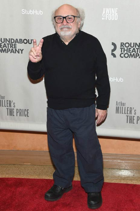Danny DeVito at the Arthur Miller's The Price Broadway Opening Night in March 2017