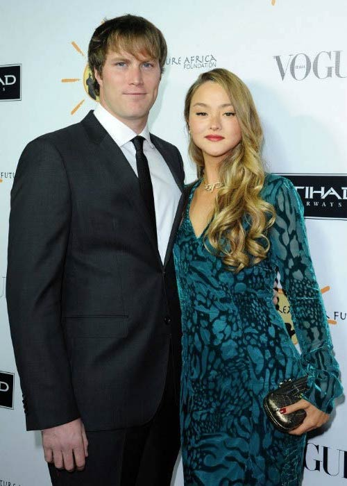 Devon Aoki and James Bailey at the Dream for Future Africa Foundation's Gala in October 2013