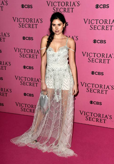 Eliza Doolittle at the annual Victoria's Secret Fashion Show in December 2014