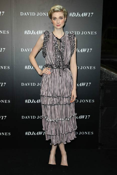 Elizabeth Debicki at the David Jones Autumn Winter 2017 Collections Launch
