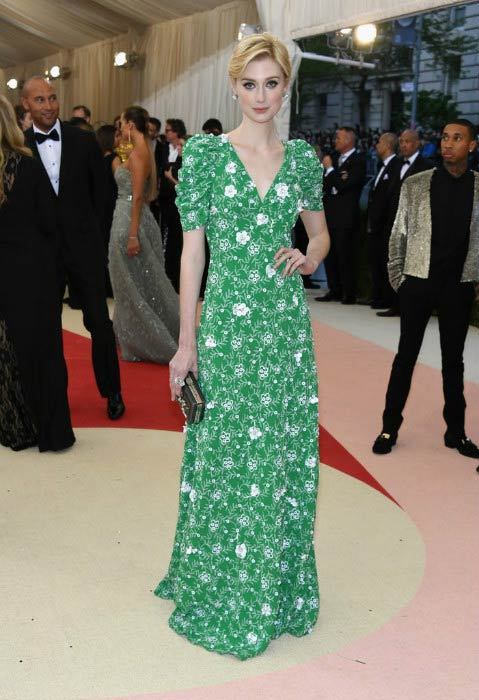 Elizabeth Debicki at the Manus x Machina: Fashion in an Age of Technology Costume Institute Gala in May 2016