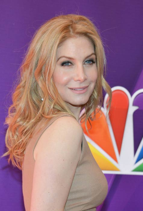 Elizabeth Mitchell at the NBC Upfront Presentation Red Carpet Event in May 2013