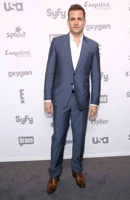 Gabriel Macht at the NBCUniversal Cable Entertainment Upfront in May 2015