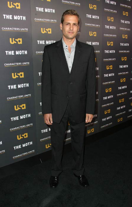 Gabriel Macht at the USA Network's and The Moth's Storytelling Tour in February 2012