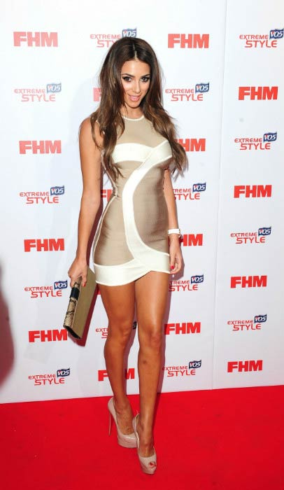 Georgia Salpa at the FHM's 100 Sexiest Women in the World Party in May 2013