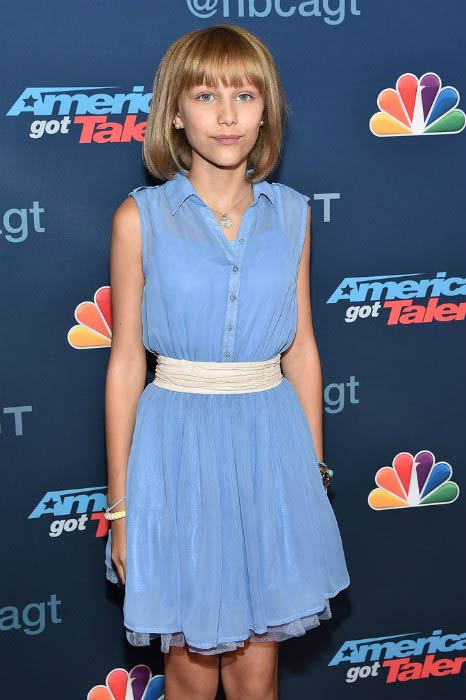 Grace VanderWaal at the America's Got Talent Season 11 Live Show in August 2016