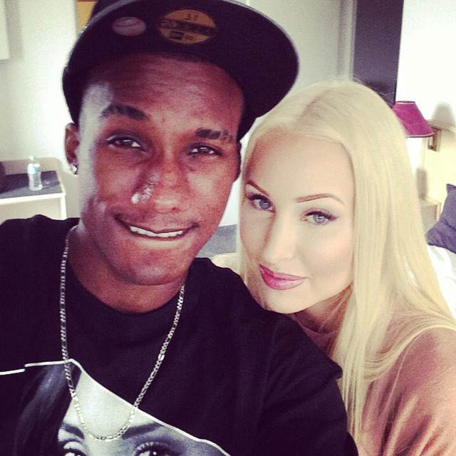 Hopsin and Alyce in a picture uploaded to social media in 2014