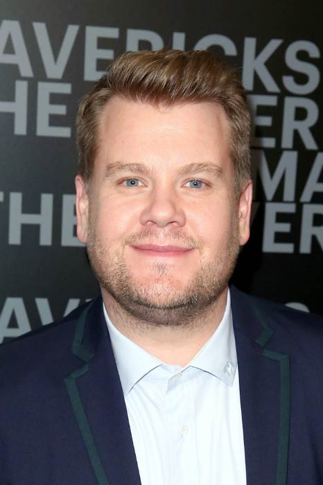 James Corden at the Esquire's celebration of March cover in February 2017 in West Hollywood