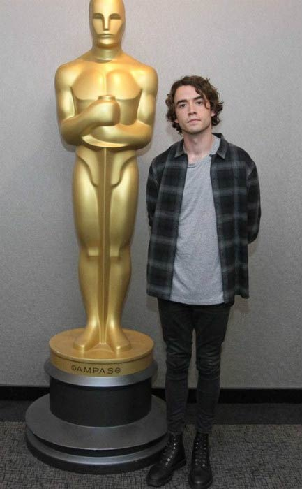 Jamie Blackley at the Official Academy Screening of Irrational Man in July 2015 in New York City