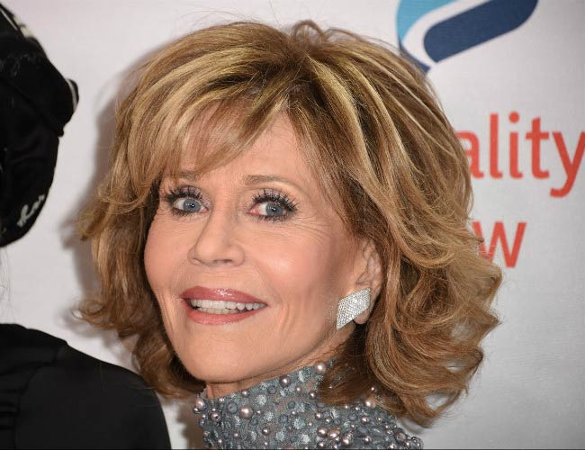 Jane Fonda at the Equality Now's third annual Make Equality Reality fundraising gala in December 2016