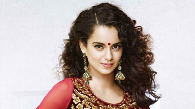 "Kangana Ranaut in a photoshoot for ""Tanu weds Manu Returns"" in 2015"