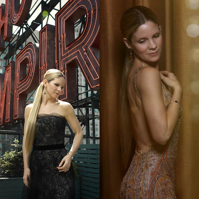 Kelli O'Hara's photography by Nathan Johnson at the Empire Hotel for the Broadway Style Guide in May 2015