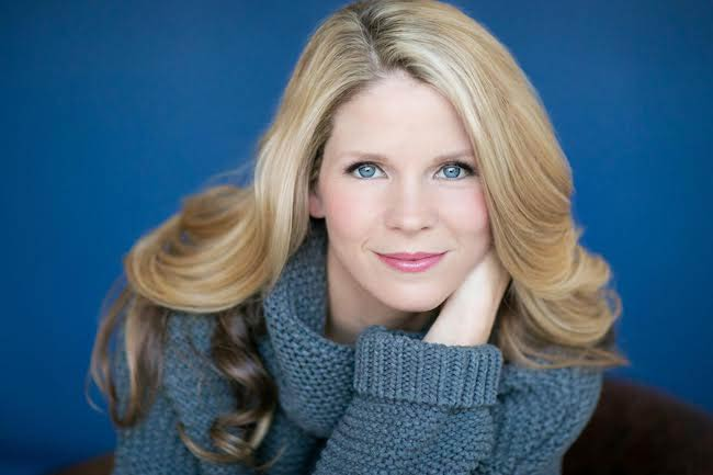 Kelli O'Hara in one of the images from a 2015 photoshoot