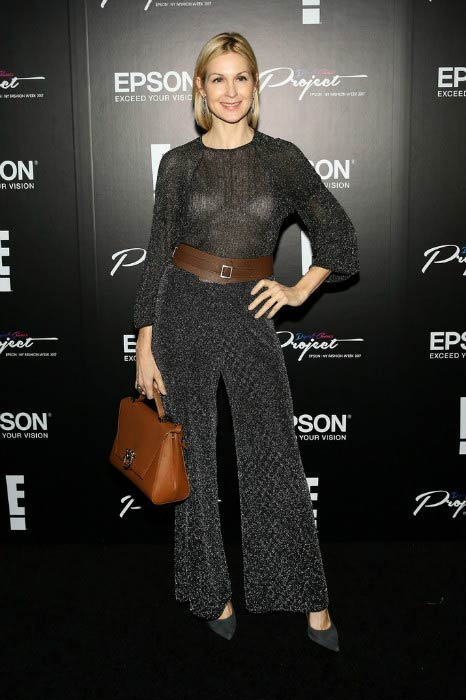 Kelly Rutherford at the Epson Digital Couture Presentation during 2017 New York Fashion Week