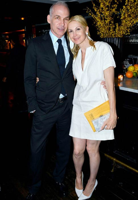 Kelly Rutherford and Tony Brand at the Cocktails to Benefit the Children's Justice Campaign in June 2015
