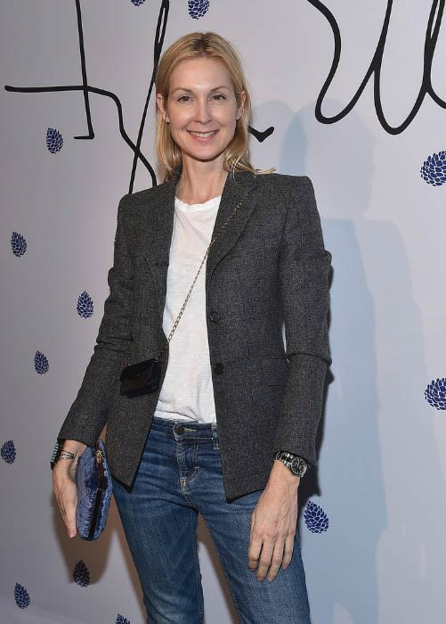 Kelly Rutherford at the launch of Tyler Ellis x Petra Flannery Collection in January 2017