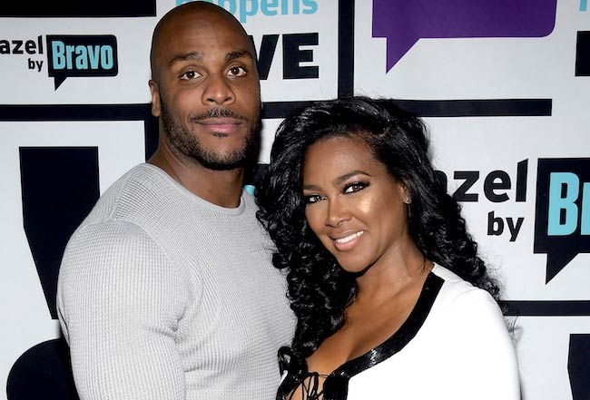 Kenya Moore with Matt Jordan during happier times in 2015