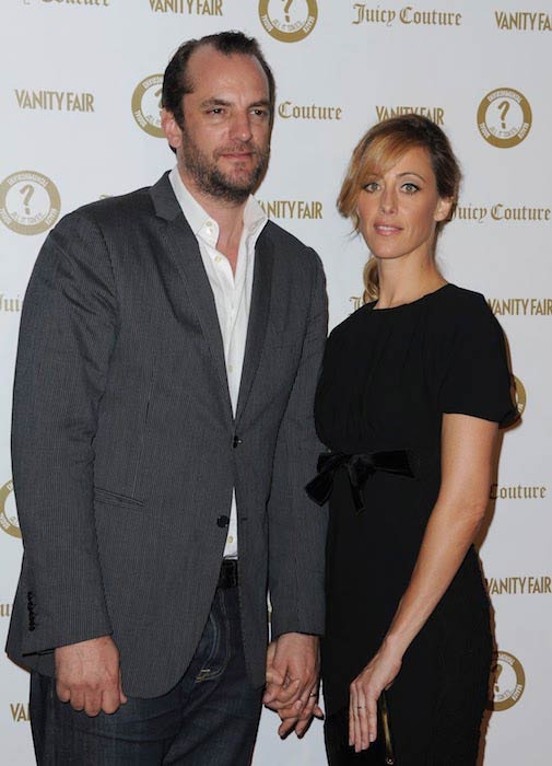 Kim Raver with husband Manuel Boyer at an event organized by Vanity Fair in 2012