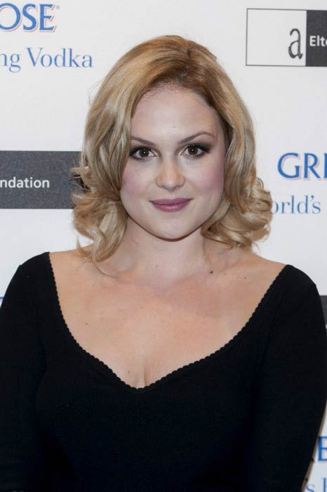 Kimberley Nixon at the Elton John's Grey Goose Ball in November 2012