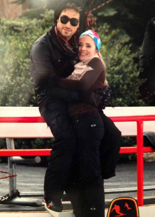 Kimberly Dos Ramos and Mauricio Henao in a picture uploaded to social media in 2013
