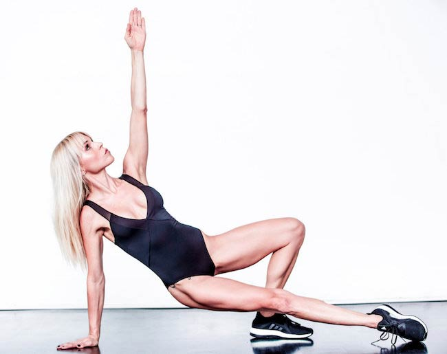 Lauren Kleban has a fit body