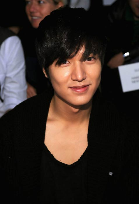 Lee Min-ho at the Lacoste Spring 2011 Fashion Show during Mercedes-Benz Fashion Week in New York City