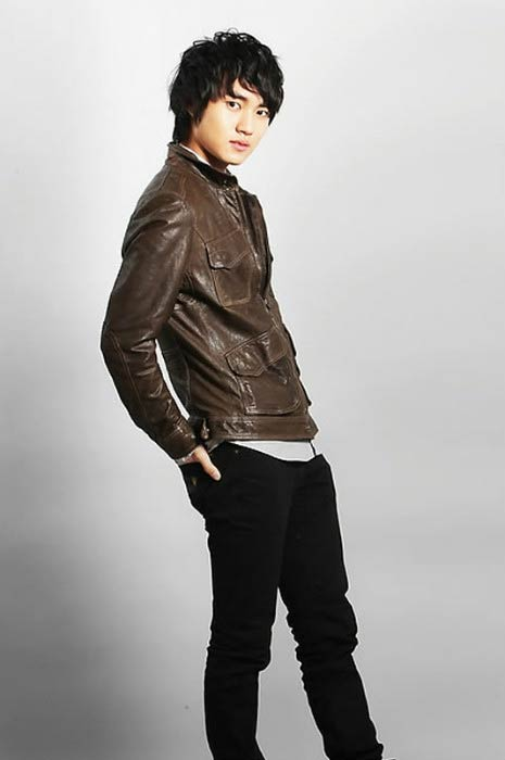 Lee Min-ho in a modeling photoshoot done in 2013