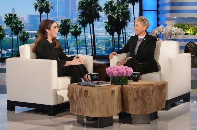Lena Dunham slams body shamers on The Ellen DeGeneres Show