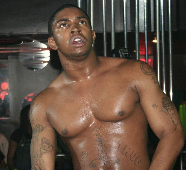 Lil Scrappy shirtless body