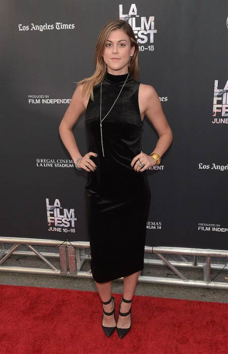 """Lindsey Shaw at the premiere of MTV and Dimension TV's """"Scream"""" in June 2015"""