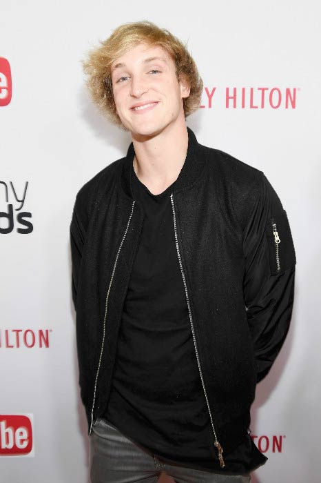 Logan Paul at the 6th annual Streamy Awards in October 2016