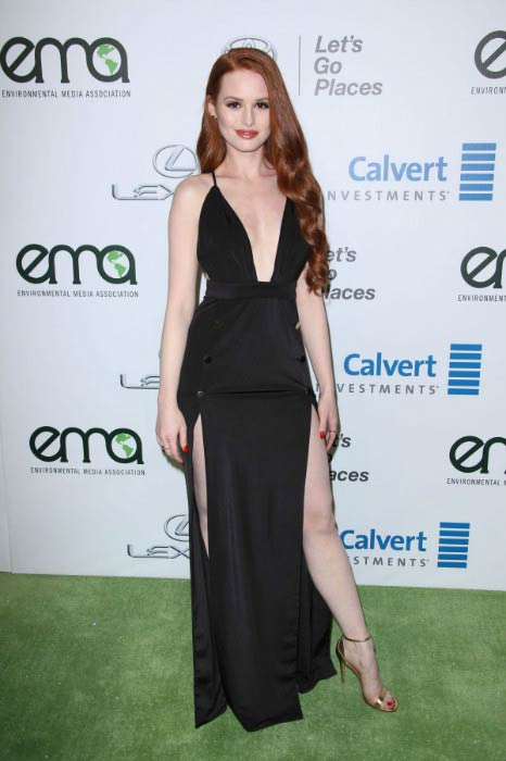 Madelaine Petsch at the 2016 Environmental Media Association Awards