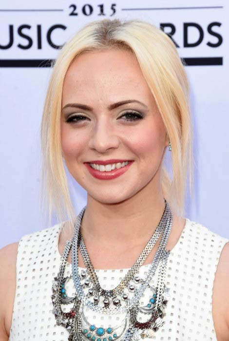 Madilyn Bailey at the Billboard Music Awards in May 2015