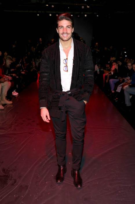 Mariano Di Vaio at the Chiara Boni La Petite Robe Fall 2016 Fashion Show in New York City