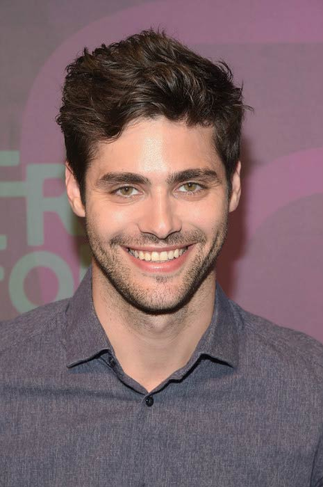Matthew Daddario at the ABC Freeform Upfront event in April 2016