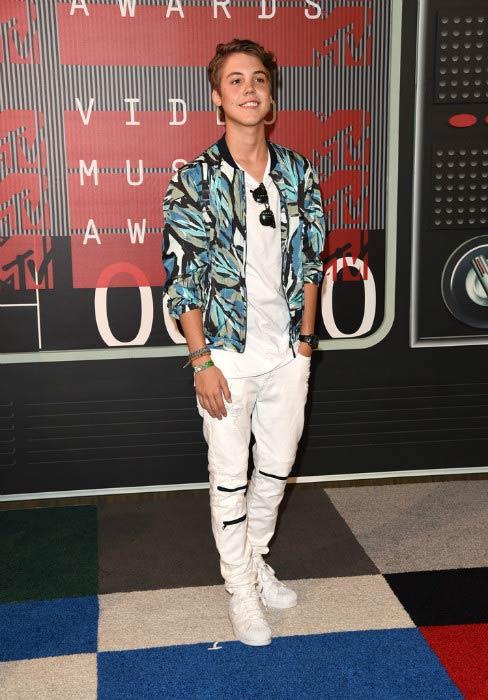 Matthew Espinosa at the 2015 MTV Video Music Awards