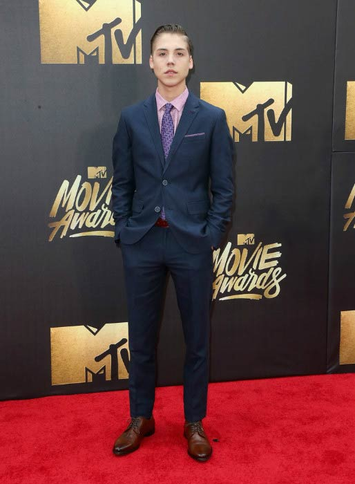 Matthew Espinosa at the 2016 MTV Movie Awards